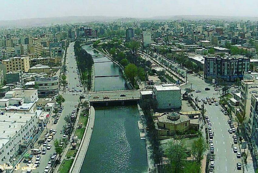 نمایی از شهر زیبای اردبیل
